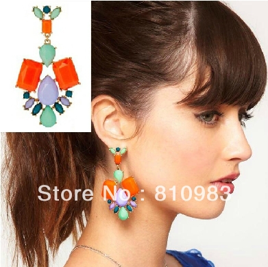 2013-jewelry-fashion-stone-big-stud-earrings-free-shipping